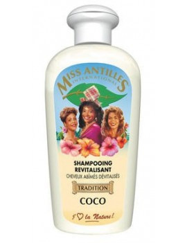 Shampoing Revitalisant Coco  - MISS ANTILLES INTERNATIONAL