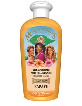 Shampoing Anti-Pelliculaire Papaye  249-1775 de MISS ANTILLES INTERNATIONAL
