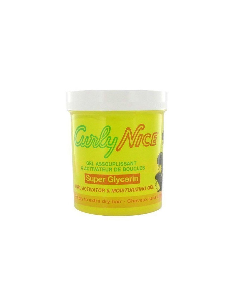 Pot Gel Activateur de Boucles (jaune) de CURLY NICE