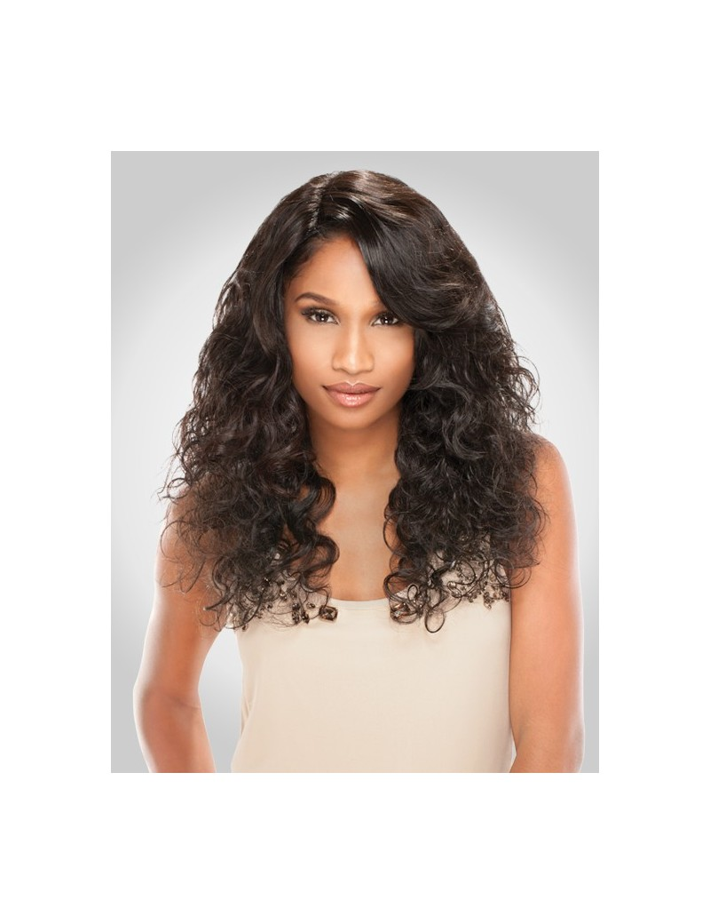 Lace Wig Brazilian Natural Curly de Sensationnel