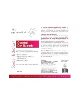 Spray Cocktail Curl Remedy 1535-3931 de Les Secrets de Loly