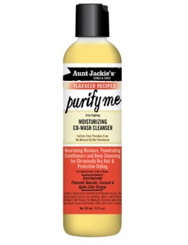 Nettoyant hydratant co-wash Purify Me Aunt Jackie's 355ml
