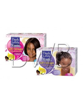 Kit défrisant Enfant Dark and Lovely - BEAUTIFUL BEGINNINGS