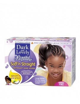 Kit défrisant Enfant Dark and Lovely 835-4500 de BEAUTIFUL BEGINNINGS