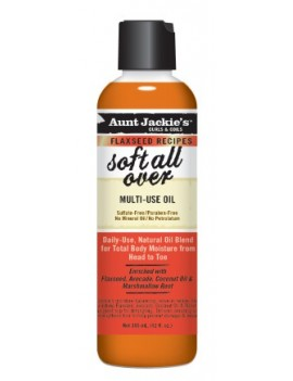 Soft all over huile multi usage  - Aunt Jackie's