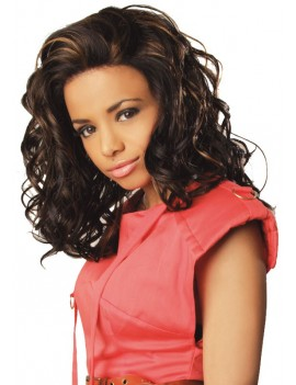 Perruque Lace Wig Coral