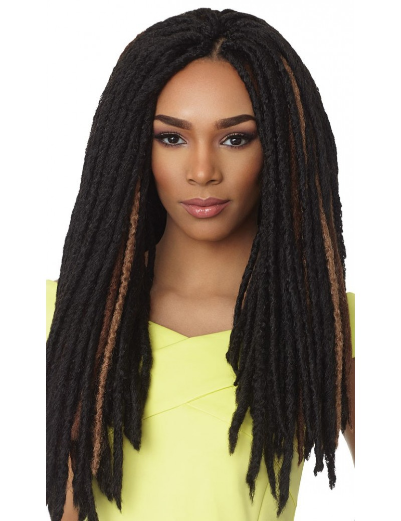 "Mèche Faux Locs 18"" de Sensationnel"