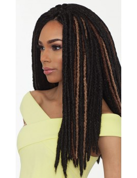 "Mèche Faux Locs 18"" 1866-6115 de Sensationnel"
