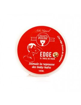 Gel Edge Crazy Pouss - AFRO NATUREL