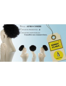 Postiche Afro Combi 1981-7053 de Clair International