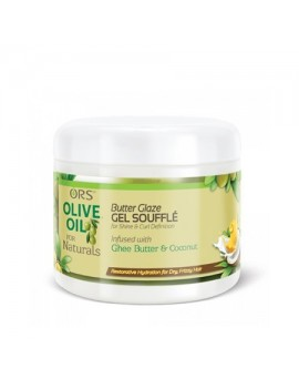 Gel Soufflé Butter Glaze pour boucles - OLIVE OIL FOR NATURALS ORS