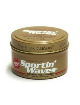 Gel Pommade Tenue Forte - SPORTIN' WAVES SOFTSHEEN CARSON