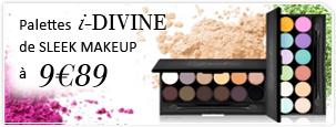 Palettes i-Divine de Sleek Make Up à 9,89€