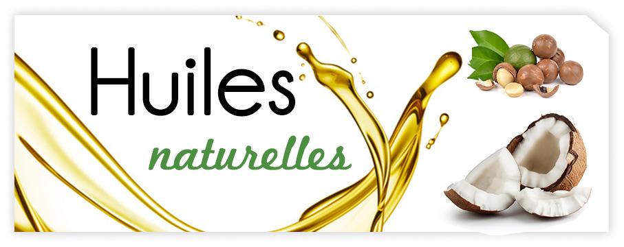 Découvrez nos huiles naturelles pour le corps et les cheveux