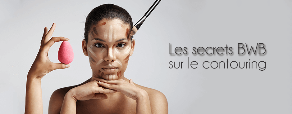 Contouring maquillage