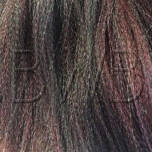 Xpression - 1B/99j - Noir profond et rouge foncé