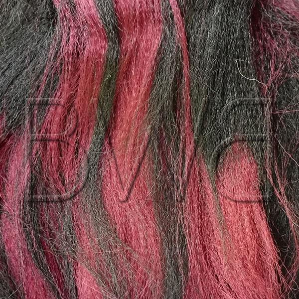 Xpression - 1B/BG - Noir profond et rouge intense