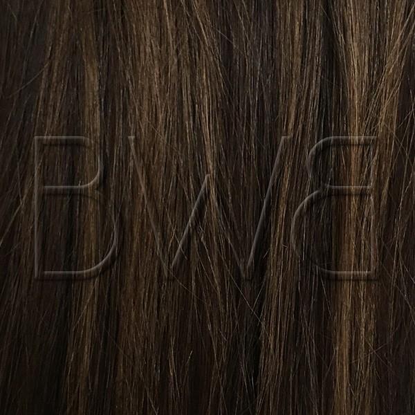 Clip - 2/6STK - Noir naturel et blond foncé