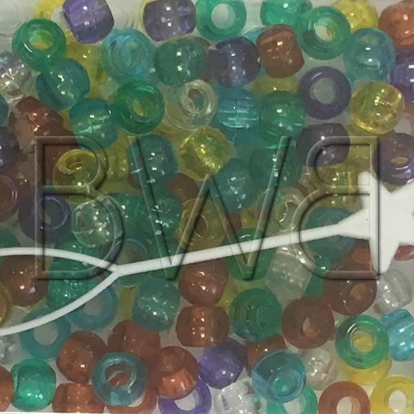 Perles multicolores