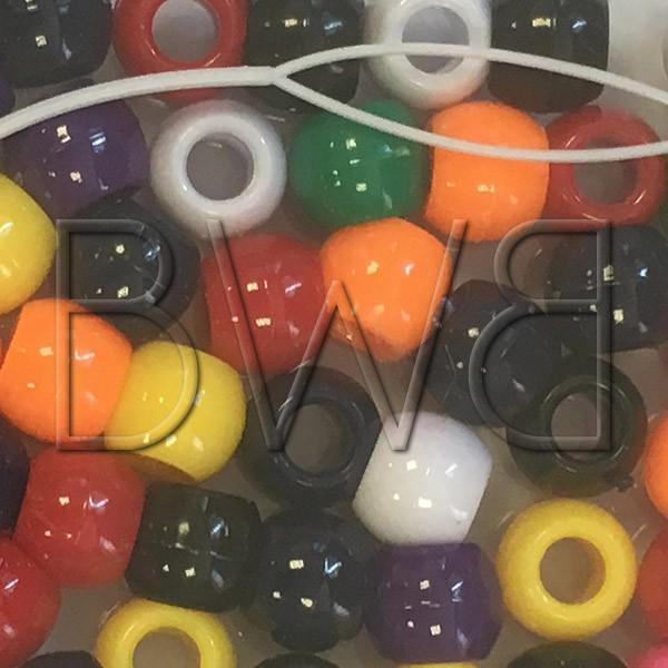 Grosse Perles multicolores