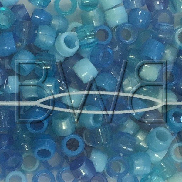 Perles bleus