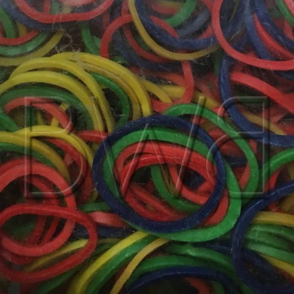 Elastiques multicolores