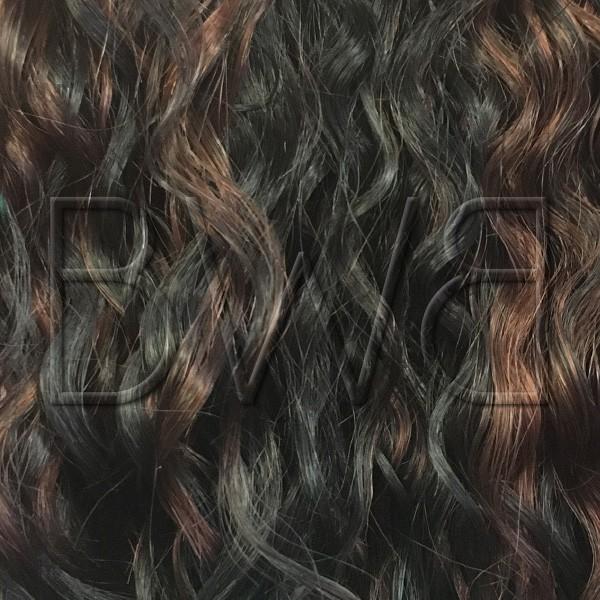 Teinte sensationnel 1B/33STK - noir et marron rouge mèchés