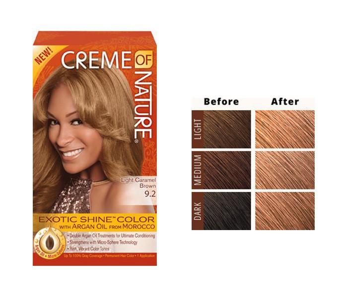 Light caramel Brown 9.2