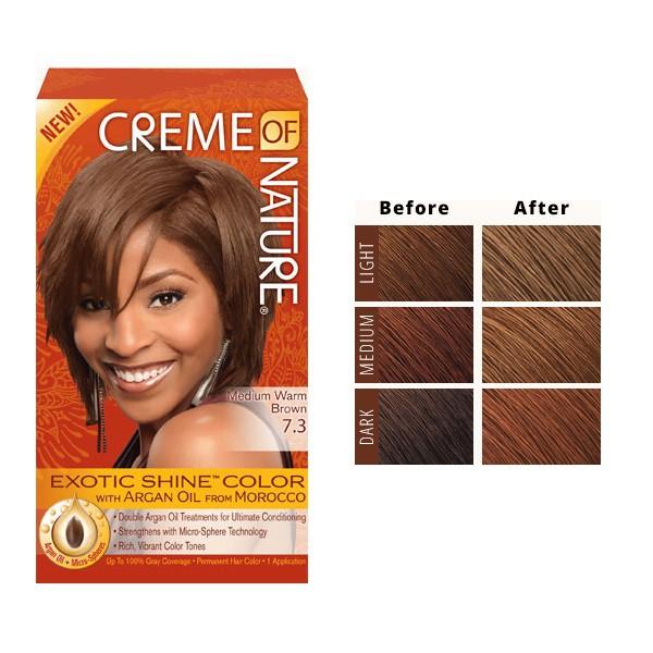 Medium warm brown 7.3