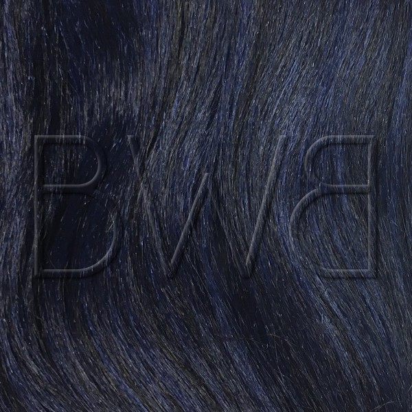 Teinte pony T1b/blue - noir et bleu