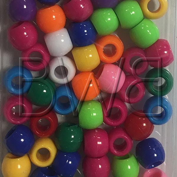 Perles Colorées Opaques (grosses)