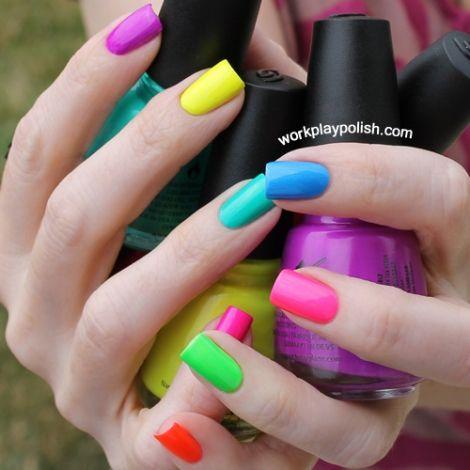 vernis multicolor