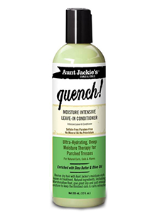 le leave in conditioner quench de Aunt Jackies