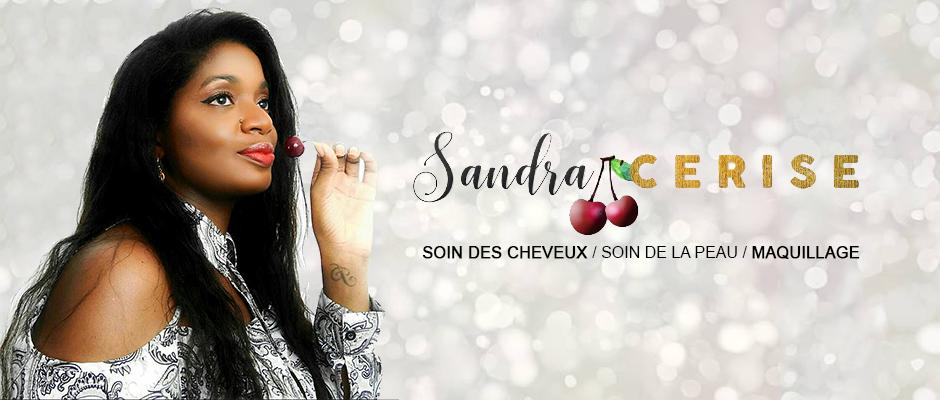 Photo Sandra + logo