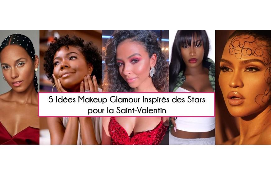 5 idées maquillages glamour inspirés des stars pour Saint Valentin
